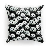 "Panda Invasion Cushion-kite.ly-18""x18""-
