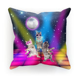 "Party Cats Cushion-kite.ly-18""x18""-