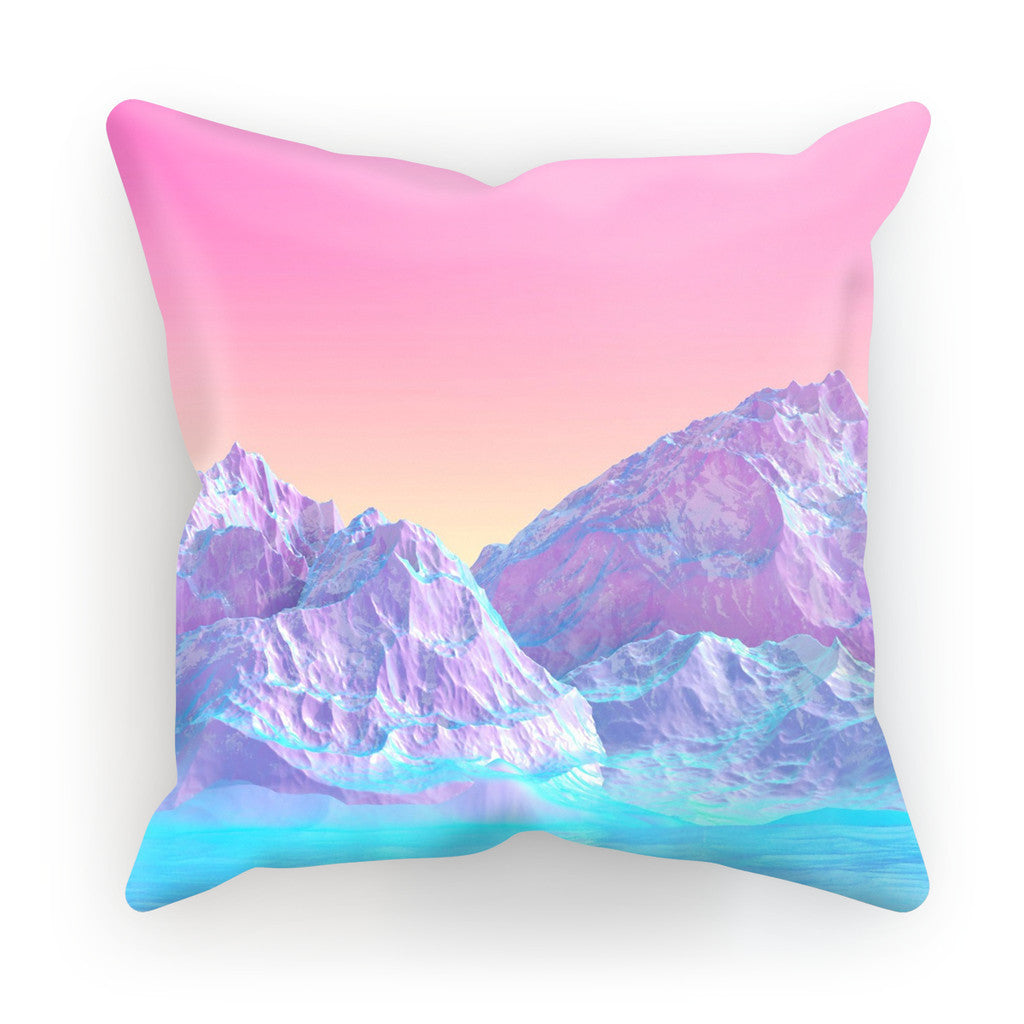 "Pastel Mountains Cushion-kite.ly-18""x18""-