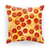 "Pizza Invasion Cushion-kite.ly-18""x18""-