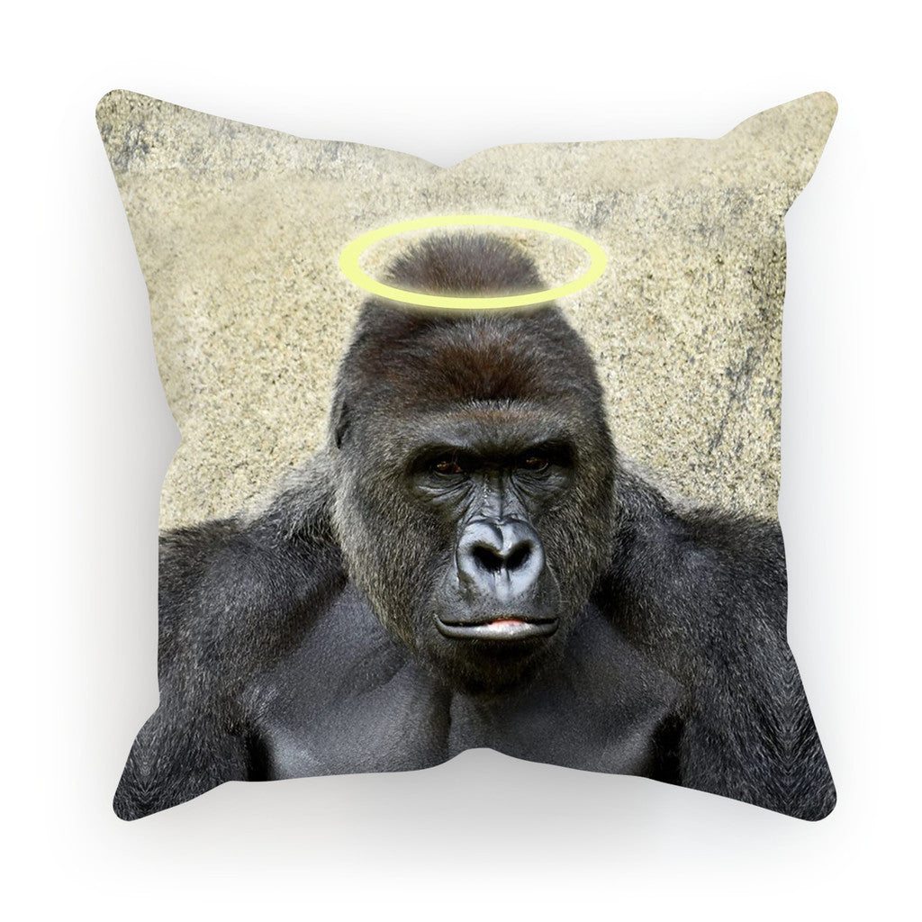 "RIP Harambe Cushion-kite.ly-18""x18""-