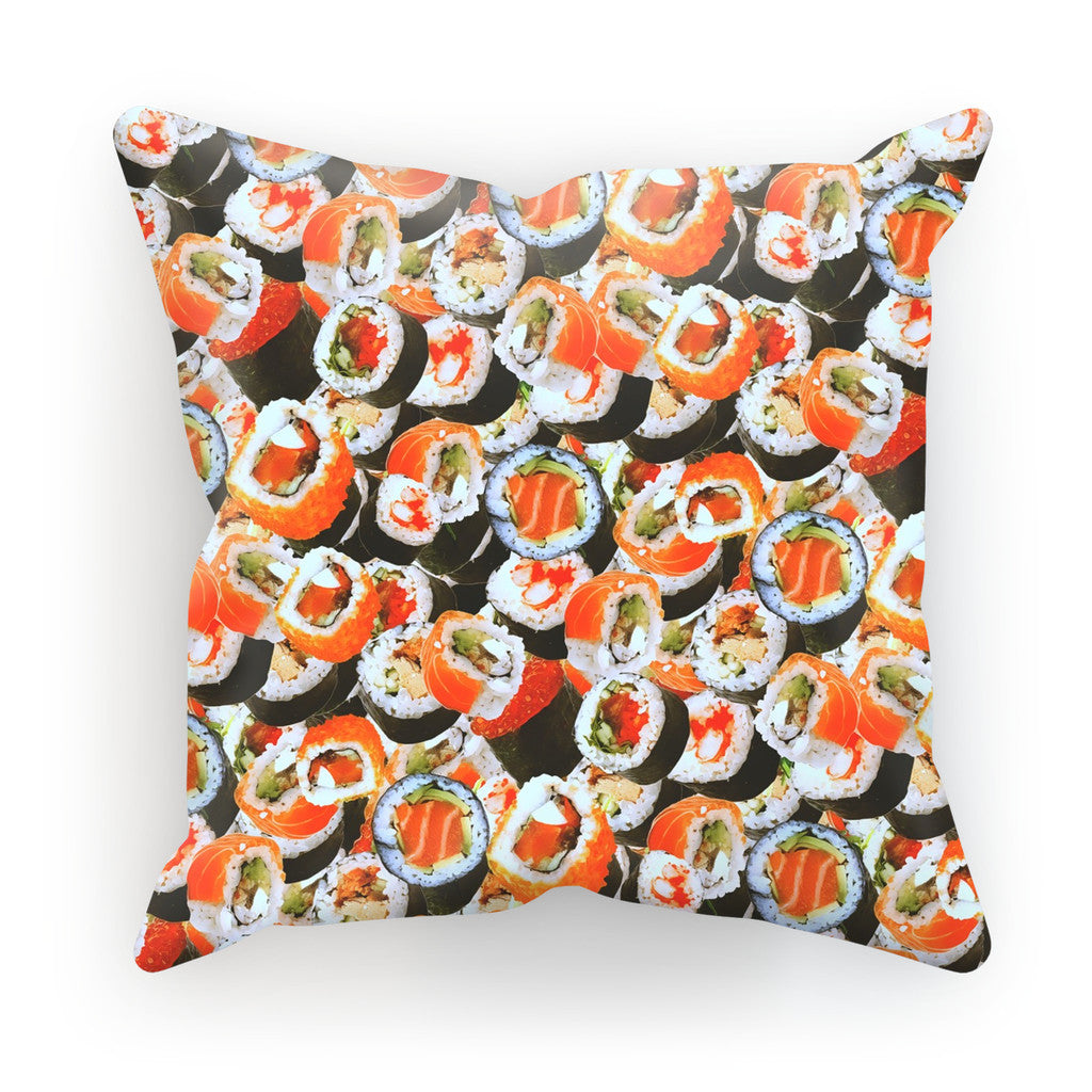 "Sushi Invasion Cushion-kite.ly-18""x18""-