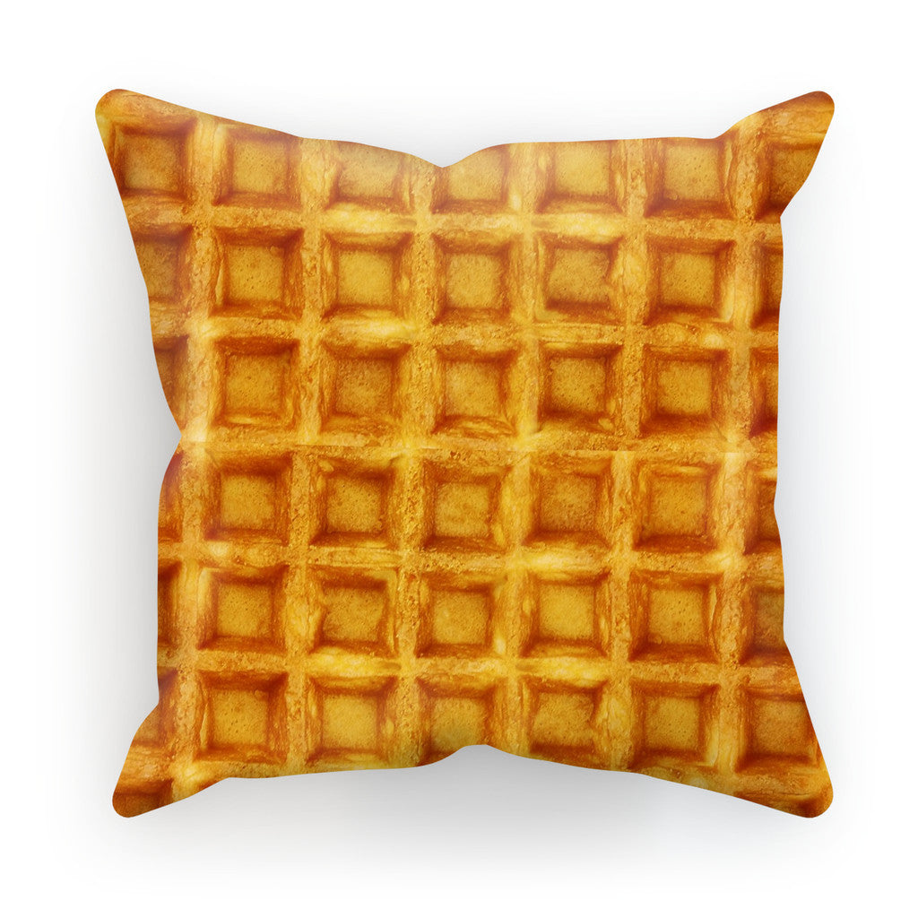 "Waffle Cushion-kite.ly-18""x18""-