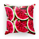 "Watermelon Invasion Cushion-kite.ly-18""x18""-