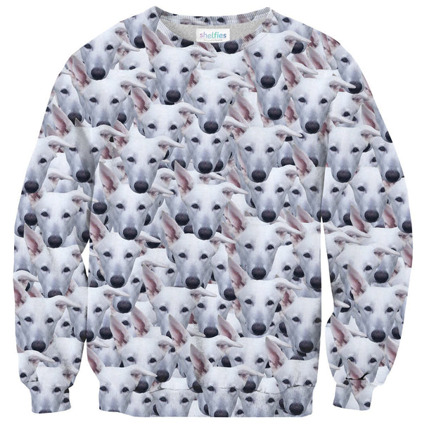 Animal Face Custom Sweater-Shelfies-| All-Over-Print Everywhere - Designed to Make You Smile
