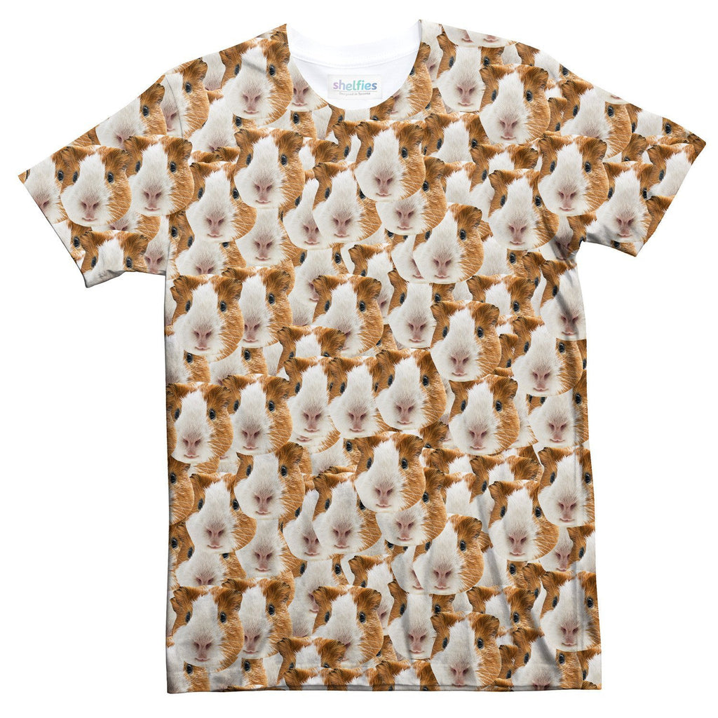 Animal Face Custom T-Shirt-Shelfies-| All-Over-Print Everywhere - Designed to Make You Smile