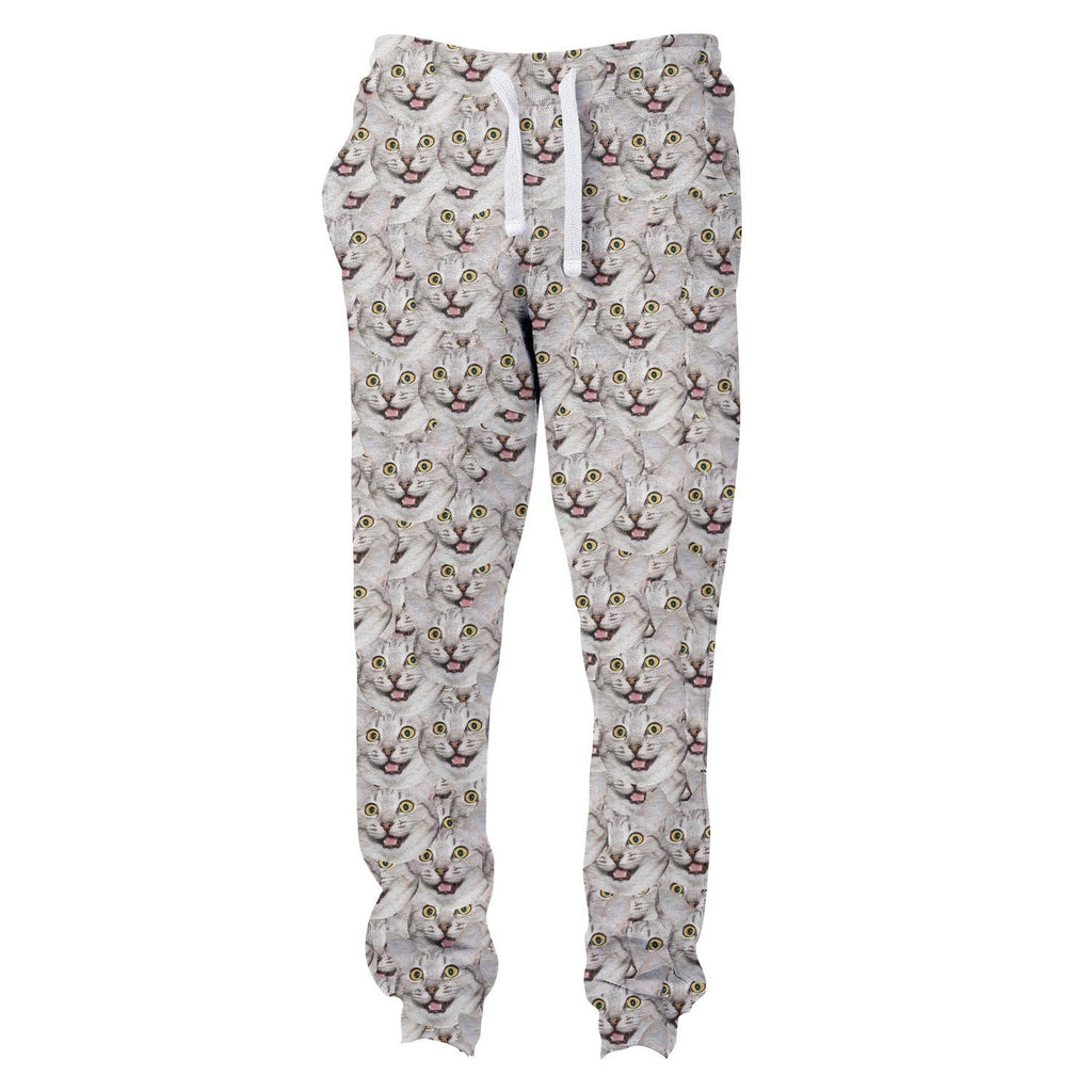 Animal Face Custom Joggers-Shelfies-| All-Over-Print Everywhere - Designed to Make You Smile