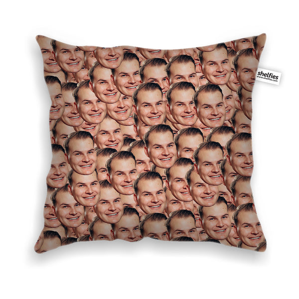 Your Face Custom Home Items-Shelfies-Throw Pillow Case-One Size-| All-Over-Print Everywhere - Designed to Make You Smile