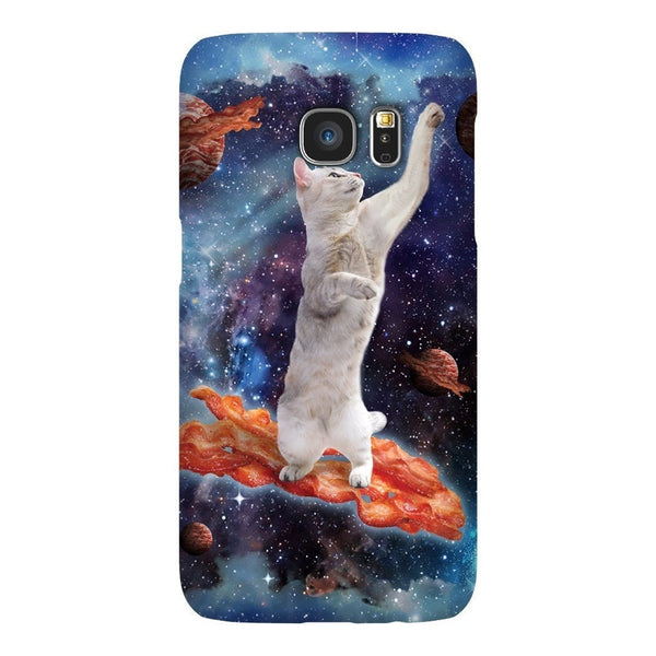 Bacon Cat Smartphone Case-Gooten-Samsung Galaxy S7-| All-Over-Print Everywhere - Designed to Make You Smile