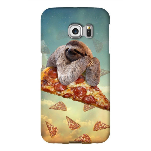 Sloth Pizza Smartphone Case-Gooten-Samsung Galaxy S6 Edge-| All-Over-Print Everywhere - Designed to Make You Smile
