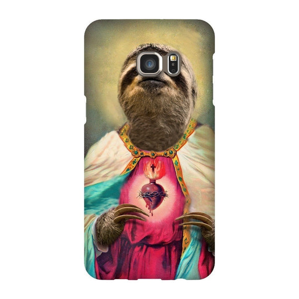 Sloth Jesus Smartphone Case-Gooten-Samsung S6 Edge Plus-| All-Over-Print Everywhere - Designed to Make You Smile