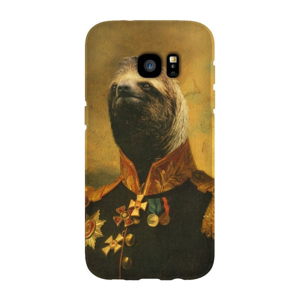 Commander Sloth Smartphone Case-Gooten-Samsung S7 Edge-| All-Over-Print Everywhere - Designed to Make You Smile