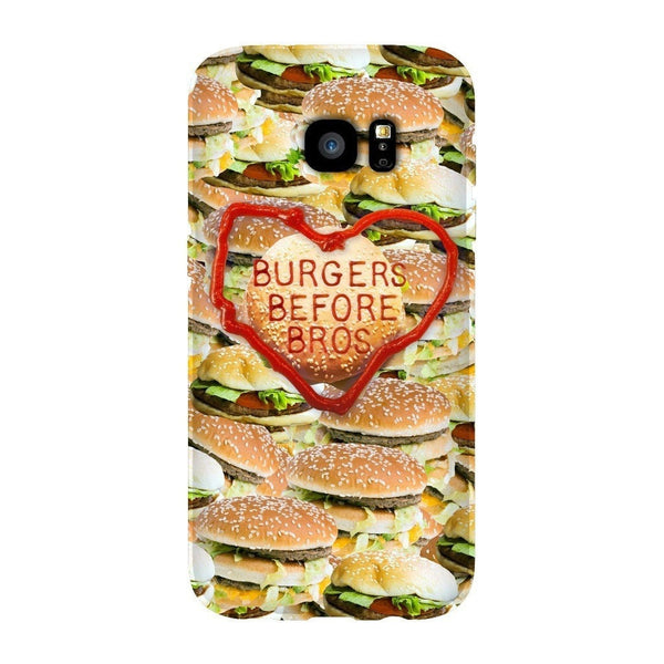 Burgers Before Bros Smartphone Case-Gooten-Samsung S7 Edge-| All-Over-Print Everywhere - Designed to Make You Smile
