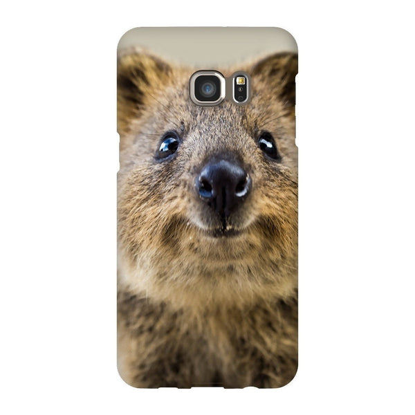Quokka Face Smartphone Case-Gooten-Samsung S6 Edge Plus-| All-Over-Print Everywhere - Designed to Make You Smile
