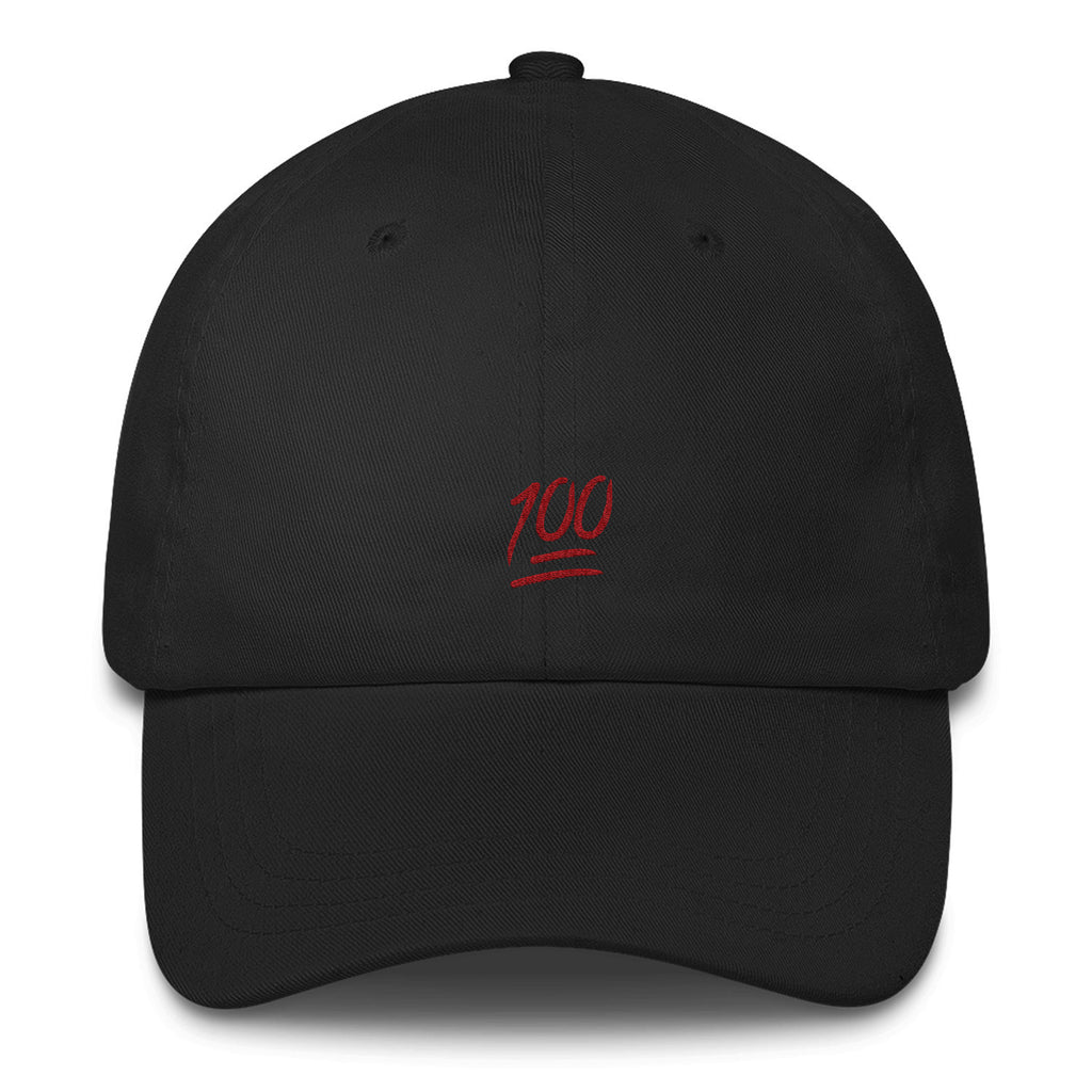 100 Dad Hat-Shelfies-Black-| All-Over-Print Everywhere - Designed to Make You Smile