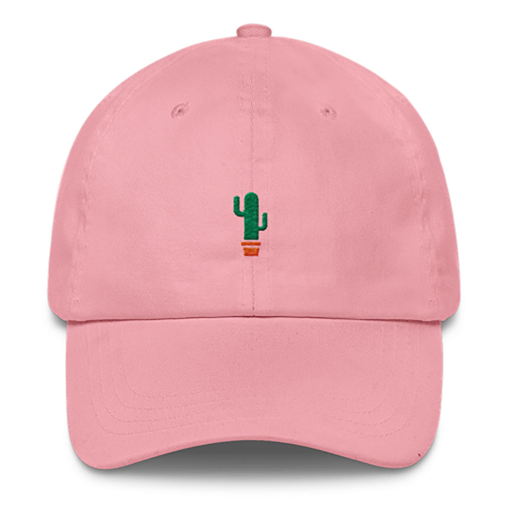 Cactus Dad Hat-Shelfies-Pink-| All-Over-Print Everywhere - Designed to Make You Smile