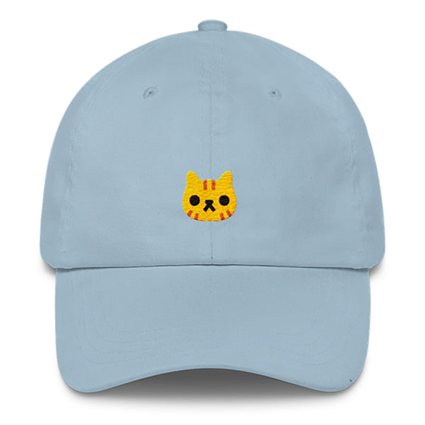 Cat Dad Hat-Shelfies-Light Blue-| All-Over-Print Everywhere - Designed to Make You Smile