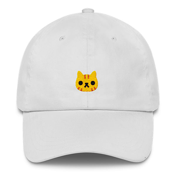 Cat Dad Hat-Shelfies-White-| All-Over-Print Everywhere - Designed to Make You Smile