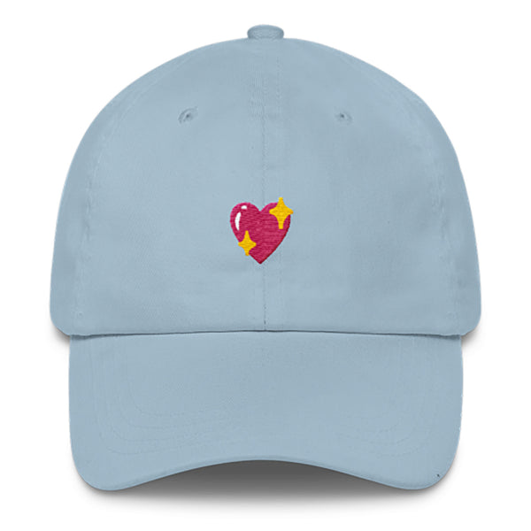 Dad Hats - Heart Sparkle Dad Hat