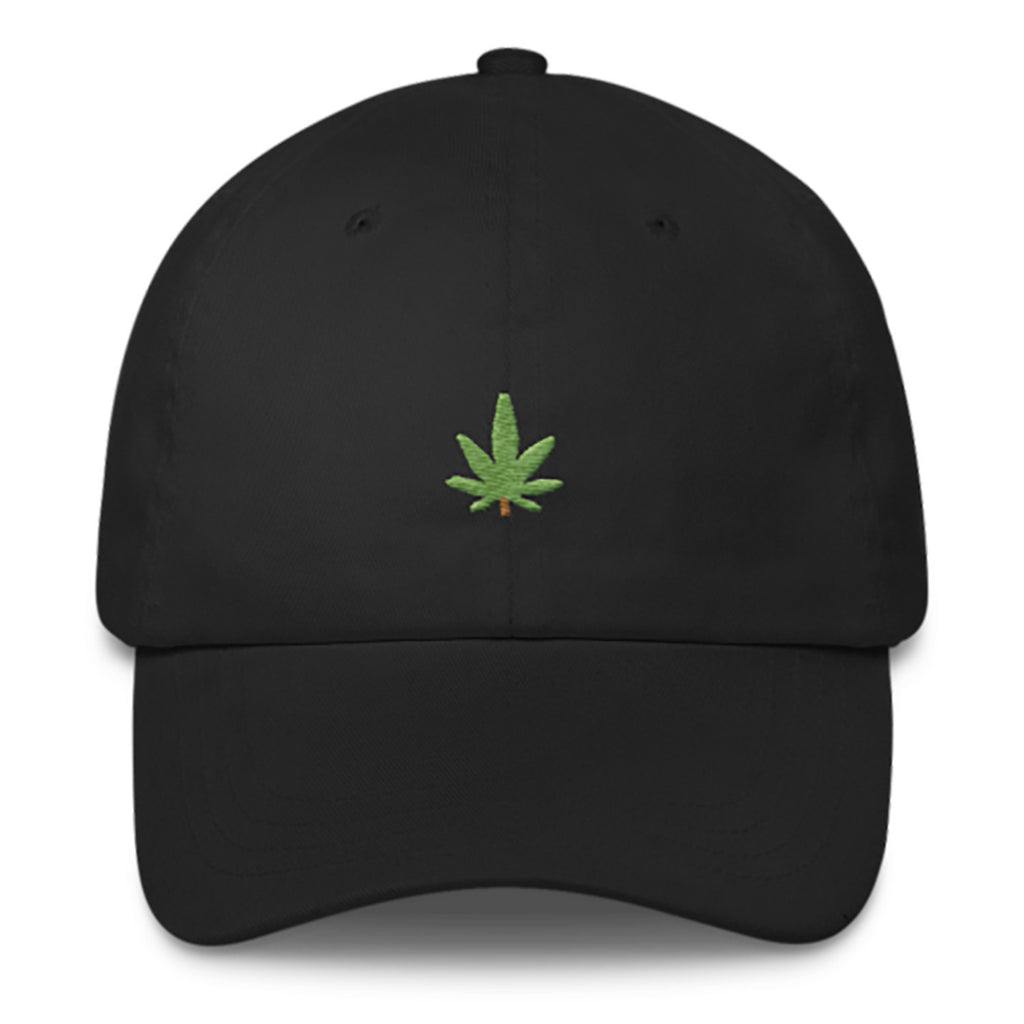 Kush Dad Hat-Shelfies-Black-| All-Over-Print Everywhere - Designed to Make You Smile