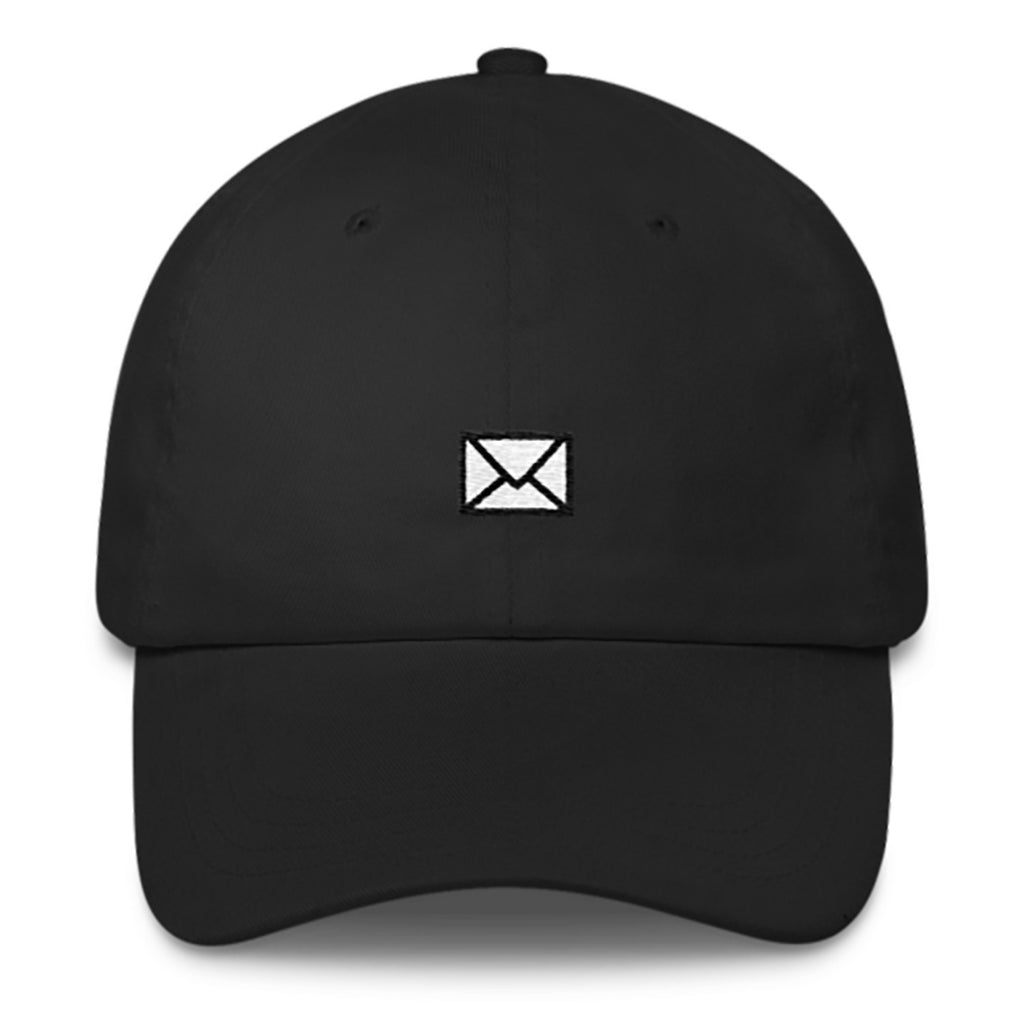 Mail Dad Hat-Shelfies-Black-| All-Over-Print Everywhere - Designed to Make You Smile