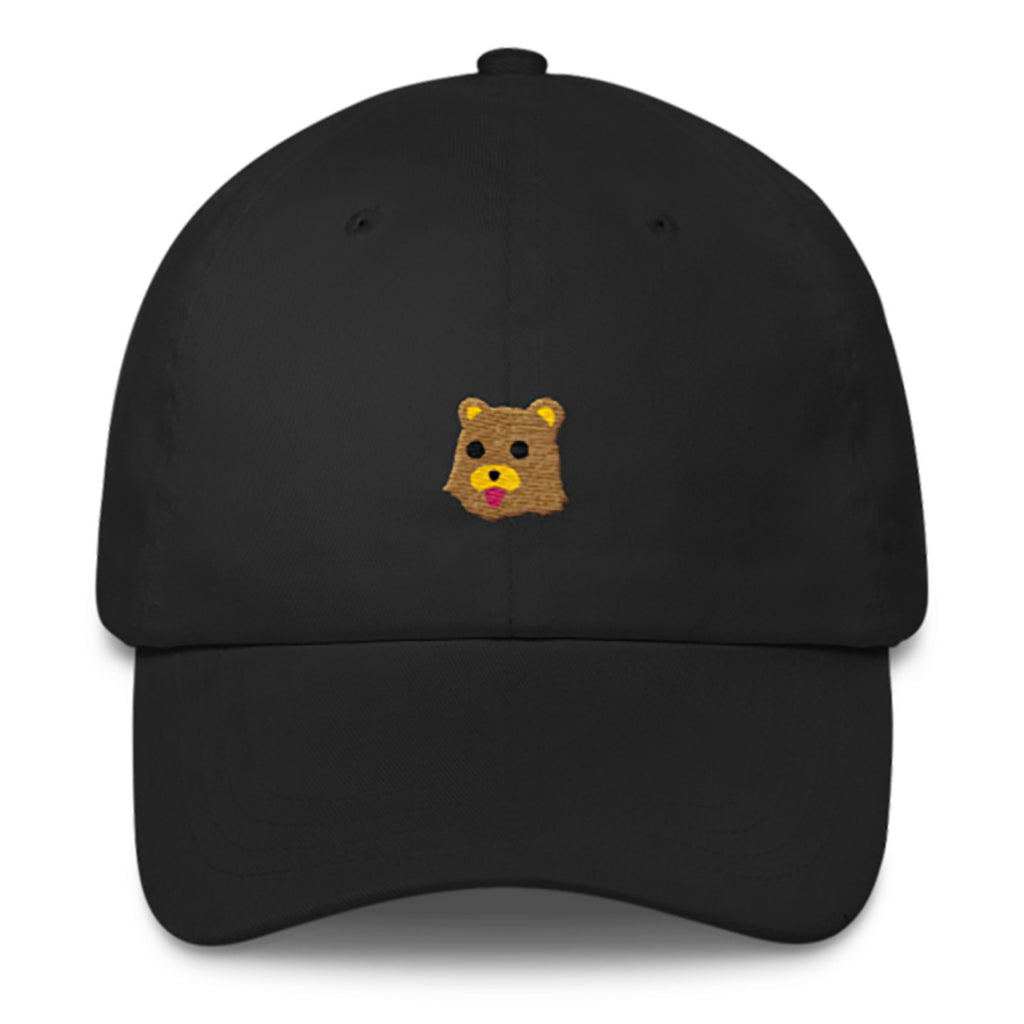 Pedo Bear Dad Hat-Shelfies-Black-| All-Over-Print Everywhere - Designed to Make You Smile