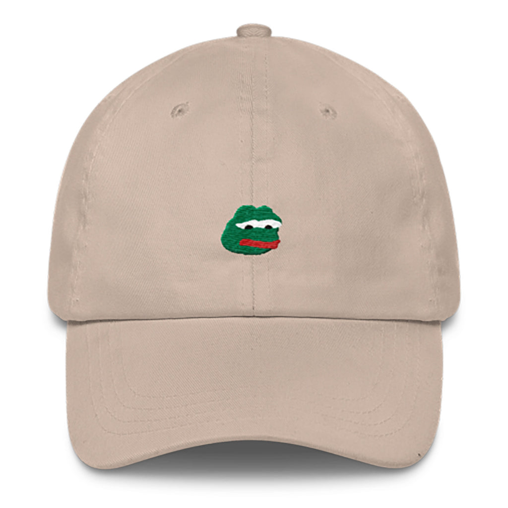 Pepe Dad Hat-Shelfies-Beige-| All-Over-Print Everywhere - Designed to Make You Smile