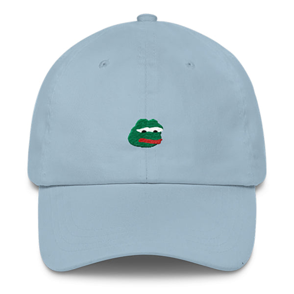 Pepe Dad Hat-Shelfies-Light Blue-| All-Over-Print Everywhere - Designed to Make You Smile
