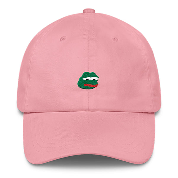 Pepe Dad Hat-Shelfies-Pink-| All-Over-Print Everywhere - Designed to Make You Smile