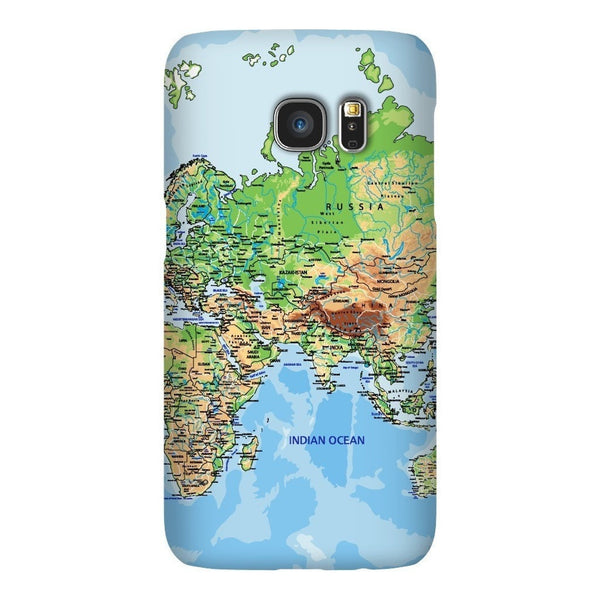 World Map Europe & Asia Smartphone Case-Gooten-Samsung S7-| All-Over-Print Everywhere - Designed to Make You Smile