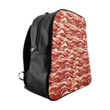 Bacon Invasion Backpack-Printify-Large-| All-Over-Print Everywhere - Designed to Make You Smile