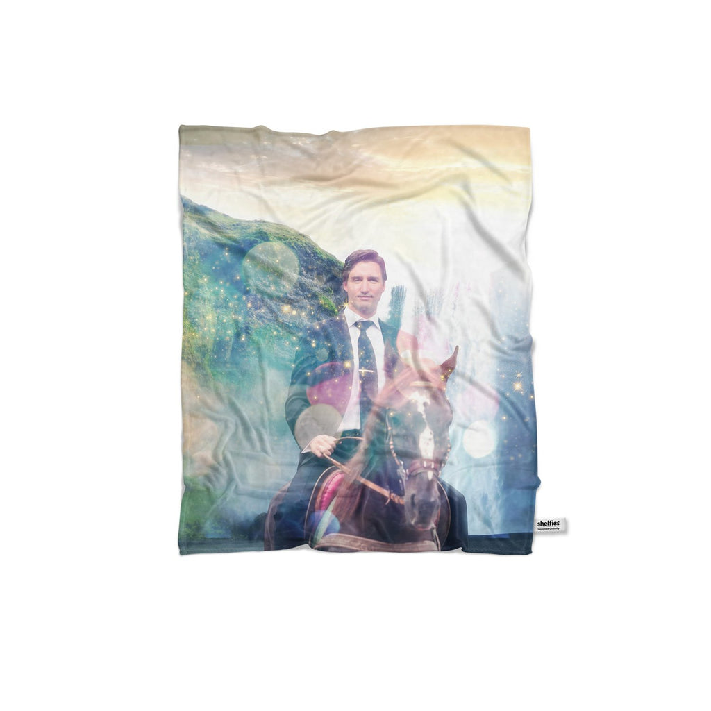 Dreamy Trudeau Blanket-Gooten-Regular-| All-Over-Print Everywhere - Designed to Make You Smile