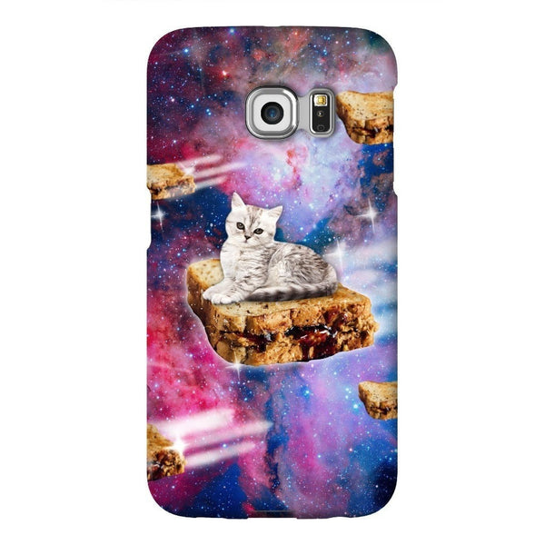 PB&J Galaxy Cat Smartphone Case-Gooten-Samsung S6 Edge-| All-Over-Print Everywhere - Designed to Make You Smile