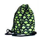 Alienz Drawstring Bag-Shelfies-One Size-| All-Over-Print Everywhere - Designed to Make You Smile