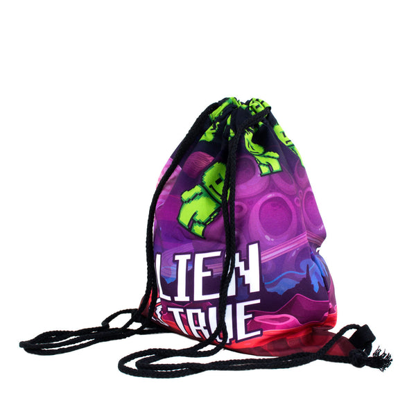 Drawstring Bags - Alien Is True! Drawstring Bag