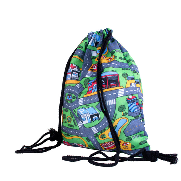 Drawstring Bags - Carpet Track Drawstring Bag