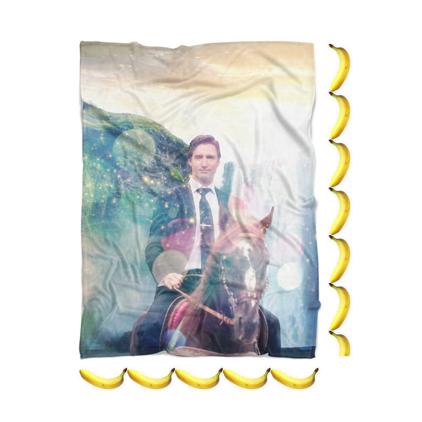 Dreamy Trudeau Blanket-Gooten-| All-Over-Print Everywhere - Designed to Make You Smile