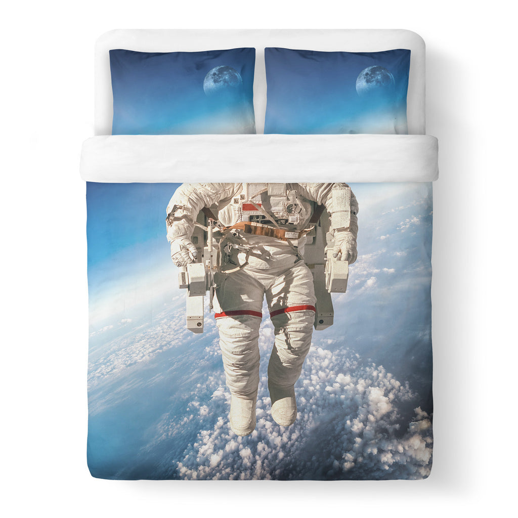 Astronaut Duvet Cover-Shelfies-| All-Over-Print Everywhere - Designed to Make You Smile