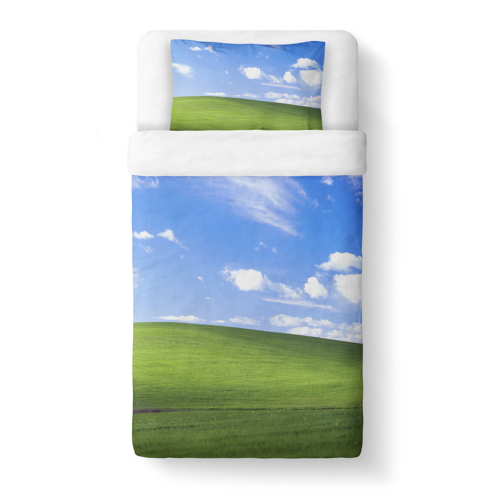 Bliss Screensaver Duvet Cover-Gooten-Twin-| All-Over-Print Everywhere - Designed to Make You Smile