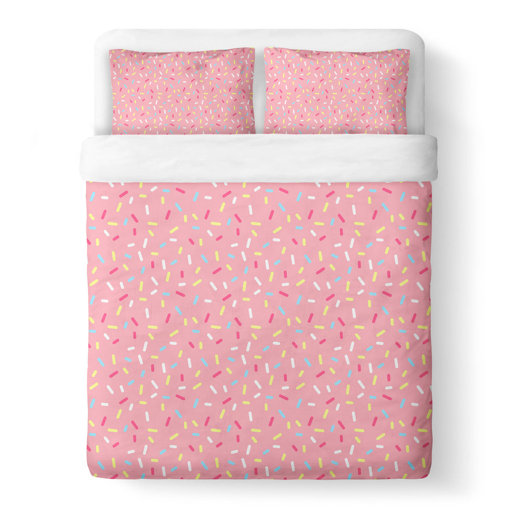 Duvet Cover Sets - Cartoon Sprinkles Duvet Cover Set