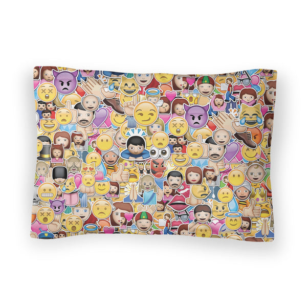 Emoji Invasion Duvet Cover-Shelfies-| All-Over-Print Everywhere - Designed to Make You Smile