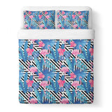 Flamingo Duvet Cover-Shelfies-| All-Over-Print Everywhere - Designed to Make You Smile