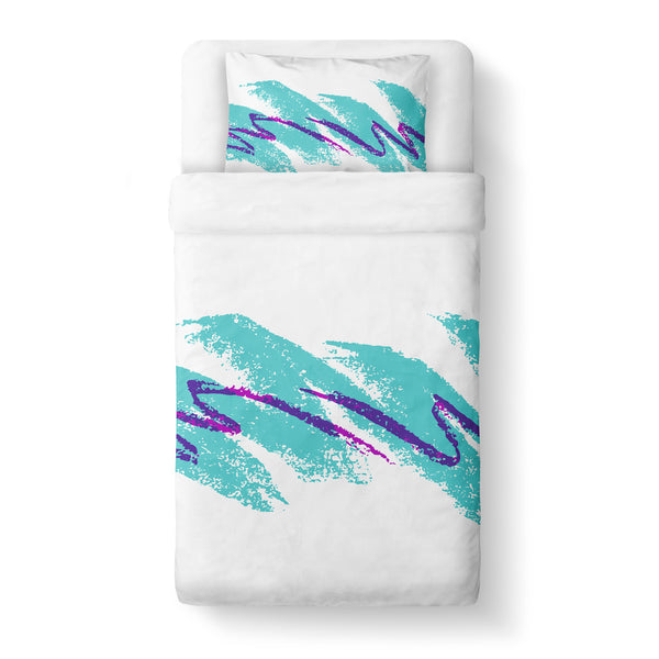 Jazz Wave Duvet Cover-Shelfies-Twin-| All-Over-Print Everywhere - Designed to Make You Smile