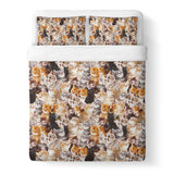 Kitty Invasion Duvet Cover-Gooten-| All-Over-Print Everywhere - Designed to Make You Smile