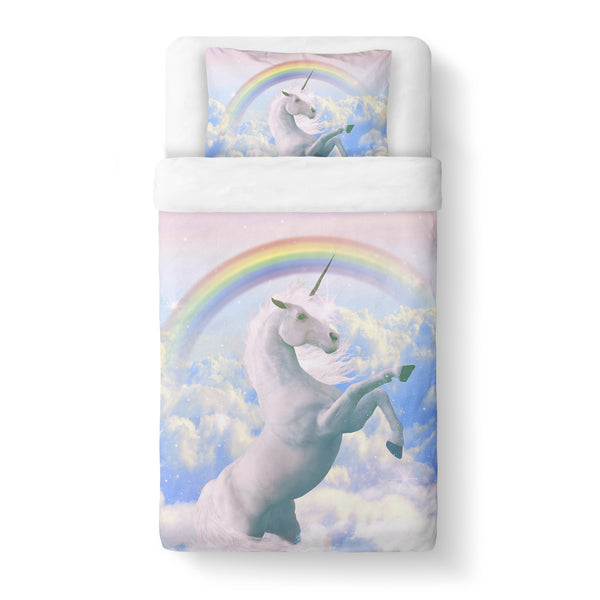 Magical Unicorn Duvet Cover-Shelfies-Twin-| All-Over-Print Everywhere - Designed to Make You Smile
