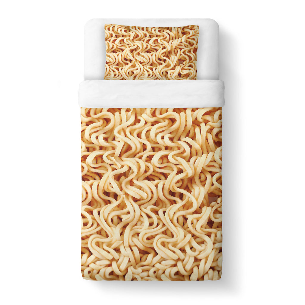 Ramen Invasion Duvet Cover-Gooten-Twin-| All-Over-Print Everywhere - Designed to Make You Smile