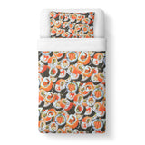 Sushi Invasion Duvet Cover-Gooten-Twin-| All-Over-Print Everywhere - Designed to Make You Smile