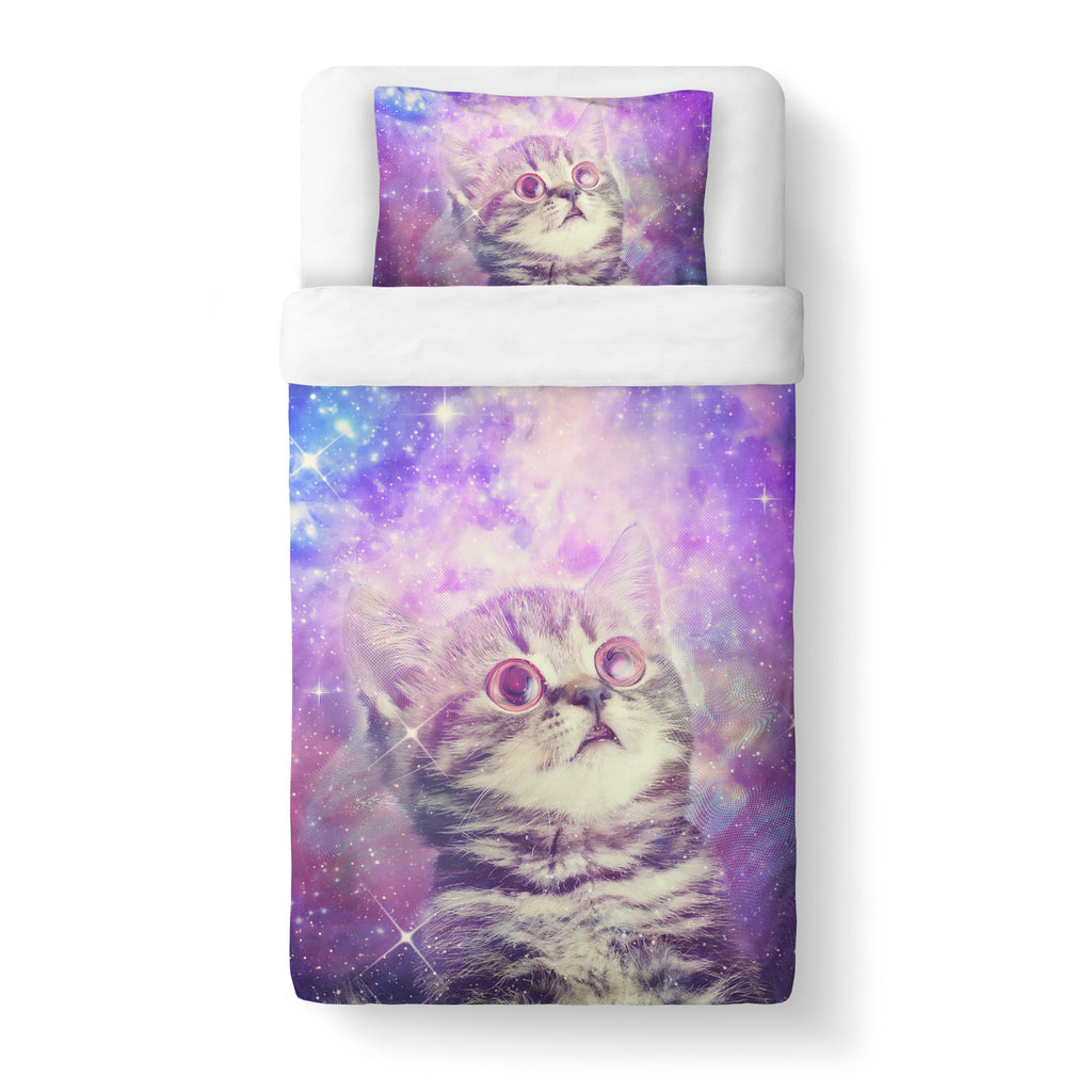 Duvet Cover Sets - Trippin' Kitty Kat Duvet Cover Set