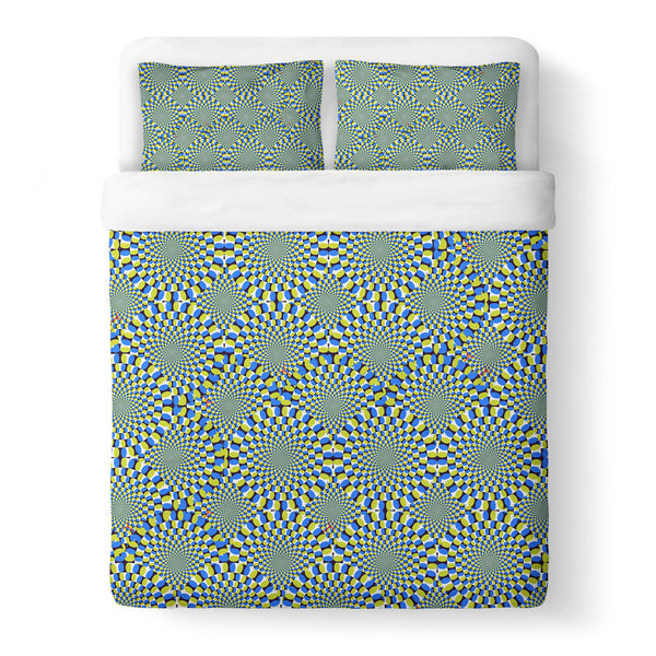 Trippy Snakes Duvet Cover Set-Shelfies-Queen + Two Pillow Cases-| All-Over-Print Everywhere - Designed to Make You Smile