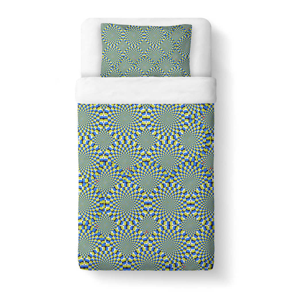 Trippy Snakes Duvet Cover Set - Shelfies | All-Over-Print Everywhere - Designed to Make You Smile